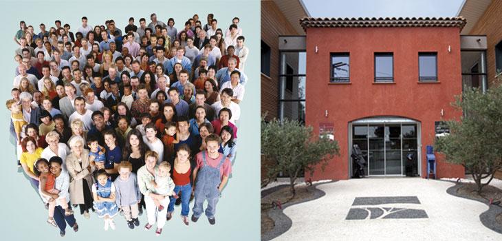 Toutes l'équipe de Villas La Provençale et son siège social à Salon de Provence