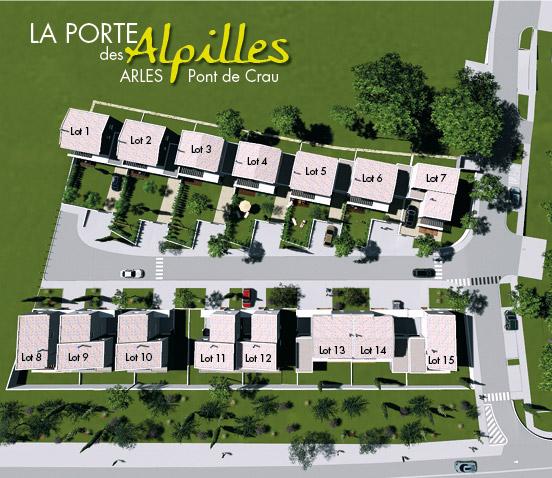 programme immobilier LA PORTE DES ALPILLES
