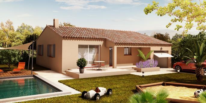 Modele De Maison Cristal 88 M Avec 3 Chambres Villas La Provencale