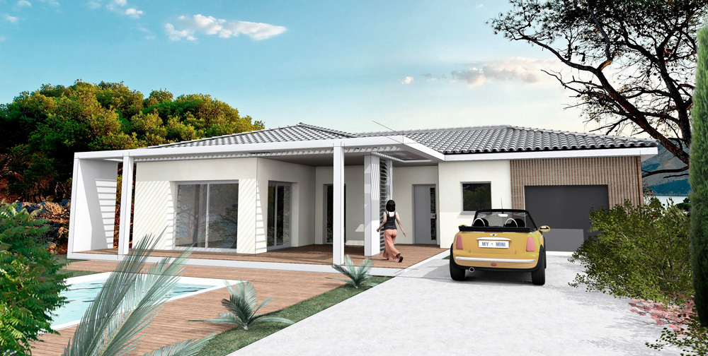 Villa Epsilon- Génération Design - la Provençale