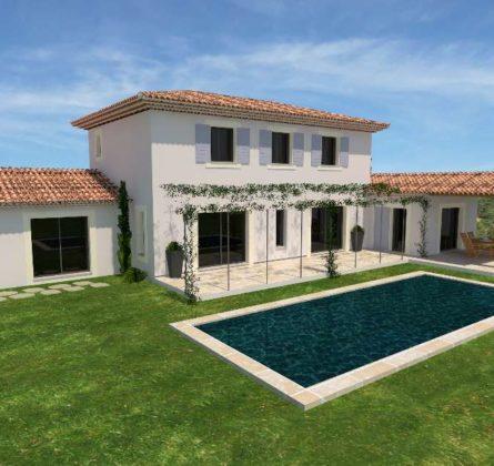 MAISON + TERRAIN A BATIR SUR MAILLANNE 13910 - constrcuteur de maison - Villas la Provençale