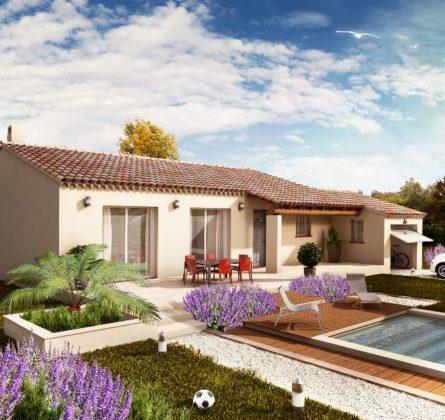 MAISON NEUVE A CONSTRUIRE A RAPHELE LES ARLES 13280 - constrcuteur de maison - Villas la Provençale