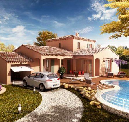 MAISON NEUVE A CONSTRUIRE RAPHELE LES ARLES 13280 - constrcuteur de maison - Villas la Provençale