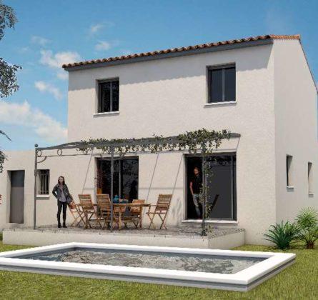 MAISON NEUVE 90 M² COMPS 30300 - constrcuteur de maison - Villas la Provençale