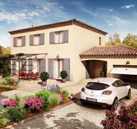 MAISON NEUVE 116 M² COMPS 30300 - constrcuteur de maison - Villas la Provençale