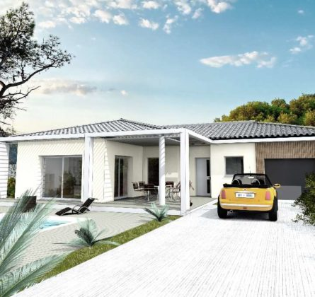 MAISON NEUVE 80M² COMPS 30300 - constrcuteur de maison - Villas la Provençale