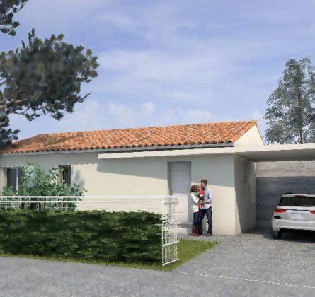 Villa clés en main sur  Bellegarde - constrcuteur de maison - Villas la Provençale