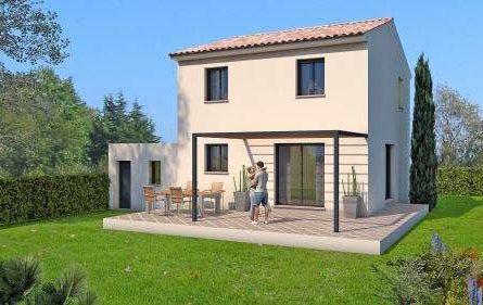 MAISON + GARAGE à Bellegarde - constrcuteur de maison - Villas la Provençale