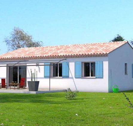 Maison de PLAIN PIED avec 3 CHAMBRES à SAINT GILLES - constrcuteur de maison - Villas la Provençale