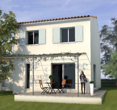 Terrain de 432m² + MAISON + GARAGE - constrcuteur de maison - Villas la Provençale