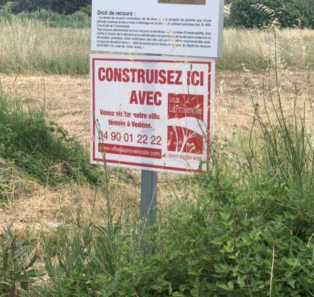 Terrain constructible Mazan - constrcuteur de maison - Villas la Provençale