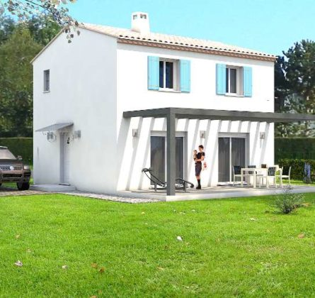 MAISON NEUVE A CONSTRUIRE A VELAUX 13880 - constrcuteur de maison - Villas la Provençale