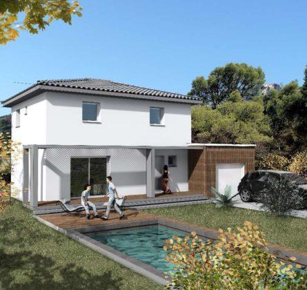 MAISON NEUVE A CONSTRUIRE A  SAINT MITRE LES REMPARTS 13920 - constrcuteur de maison - Villas la Provençale