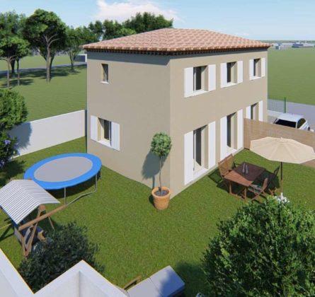 MAISON NEUVE A CONSTRUIRE A  LACANAU MARIGNANE 13700 - constrcuteur de maison - Villas la Provençale