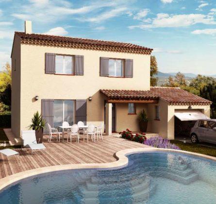 TERRAIN + MAISON A SENAS - constrcuteur de maison - Villas la Provençale