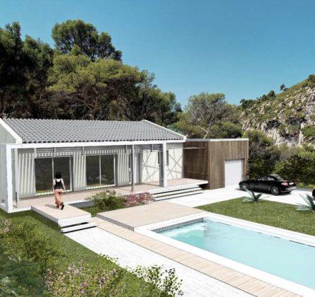 MAISON NEUVE A CONSTRUIRE A SAINT-ZACHARIE 83640 - constrcuteur de maison - Villas la Provençale
