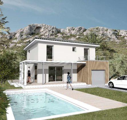 MAISON à ST ZACHARIE - constrcuteur de maison - Villas la Provençale