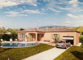 Terrain + Maison sur la commune de PEYPIN