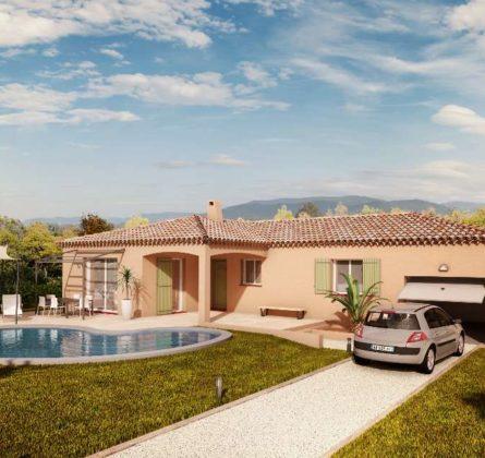 Terrain + Maison au Castellet (83) - constrcuteur de maison - Villas la Provençale
