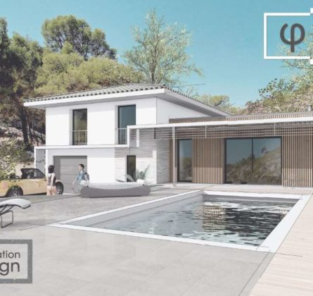 LE PLAN DU CASTELLET PROJET DE CONSTRUCTION - constrcuteur de maison - Villas la Provençale