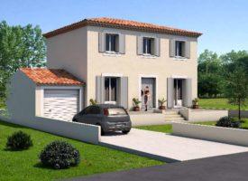 Construction d'une villa à Pélissanne