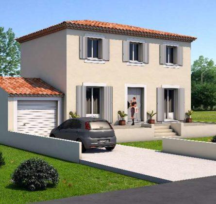 Construction d'une villa à Pélissanne - constrcuteur de maison - Villas la Provençale
